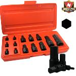 Ridgerock Neiko-01142B 14-pc. Impact Hex Socket Set (Inch) from Hanover Tool