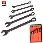 Ridgerock Neiko-03509A 5-pc. Black Oxide Combination Wrench Set (3/8 - 5/8 in.) from Hanover Tool