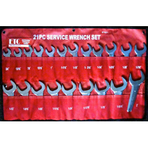 Extreme Torque ETC-EQ21 21-pc SAE Service Wrench Set